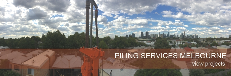 piling services melbourne - view projects